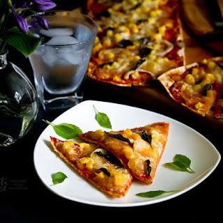 Pepperoni Flatbread Pizza