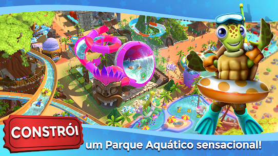 RollerCoaster Tycoon Touch Apk Mod Dinheiro Infinito 5