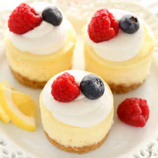 Mini Lemon Cheesecakes Recipe