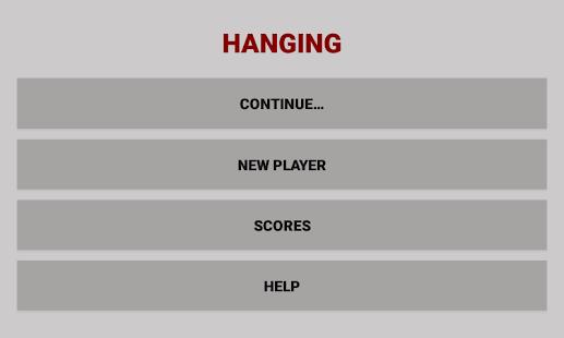 Hanging - náhled