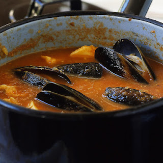 Bouillabaisse with Rouille