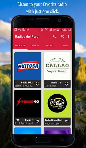Radios del Peru - Peruvian Radio screenshots 2