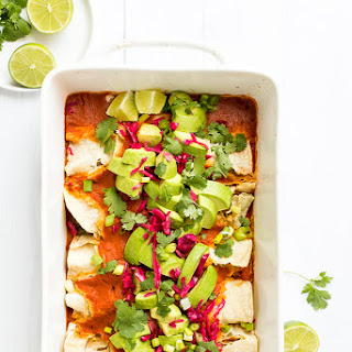 Best Vegan Enchiladas from Minimalist Baker's Everyday Cooking