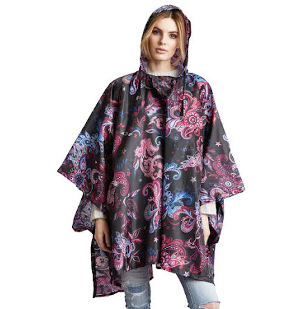 Monsoon Printed Rainponcho, multi - Odd Molly