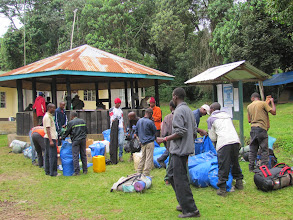 Photo: Porters packing loads