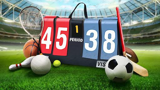 Scoreboard Free Volleyball & Basketball Swipe Up screenshots 13