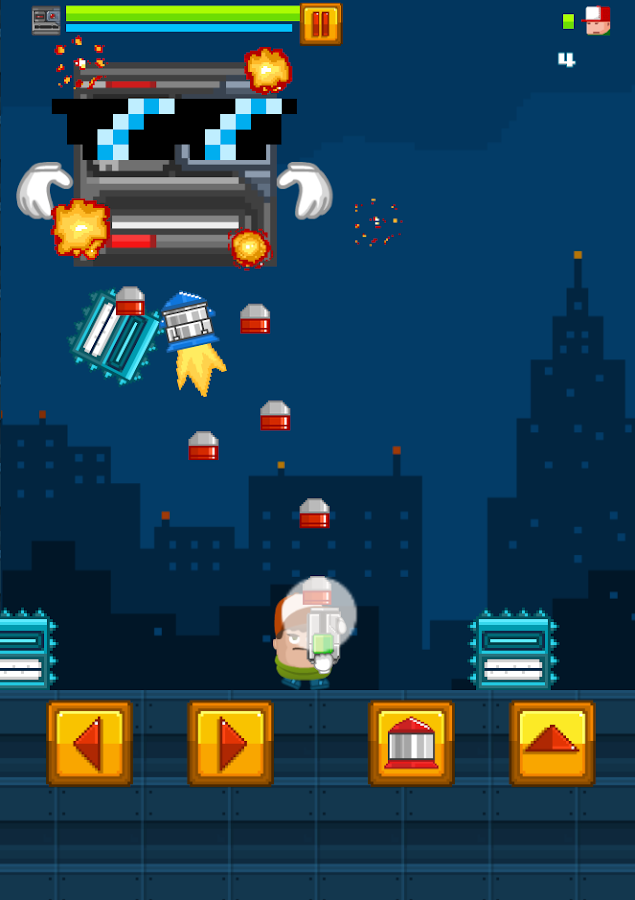 Boss Level Shootout- screenshot