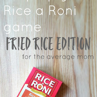 Step Up Your Rice a Roni Game- Fried Rice Edition