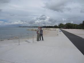 Photo: Prvi turisti na novoj plaži na Hidrobazi!