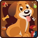 Cute Puppy Dog Clicker Jumper icon