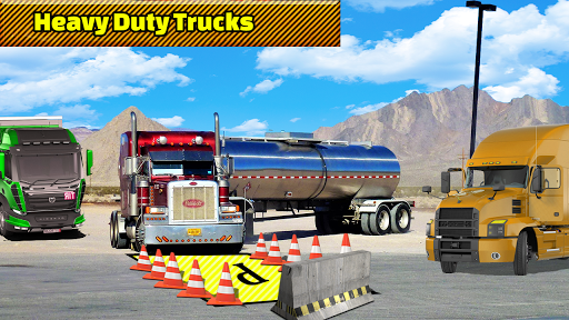Truck Parking Adventure 3D:Impossible Driving 2018 apkpoly screenshots 7