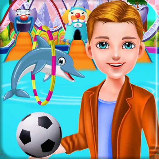 水上乐园冒险儿童游戏 休閒 App LOGO-APP開箱王