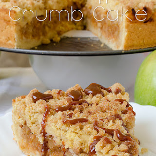 Caramel Apple Crumb Cake.