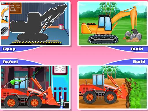 Construction Vehicles & Trucks - Games for Kids 1.8.1 screenshots 8