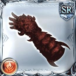赤き依代の手甲