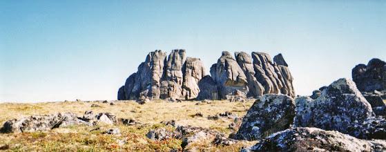Photo: Bering Land Bridge: Granite Tors