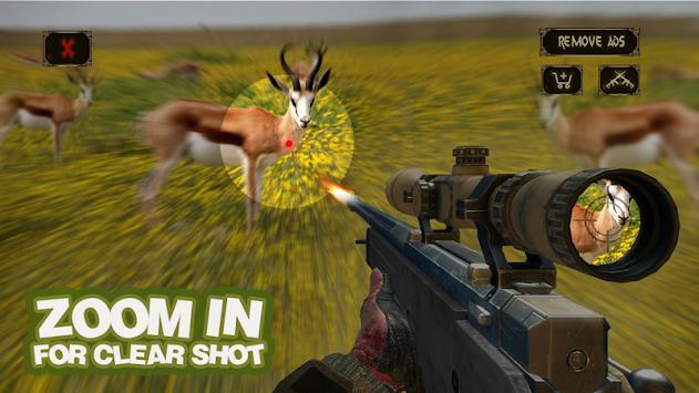 Wild Safari Hunter: Hunting & Shooting 3D apk screenshot