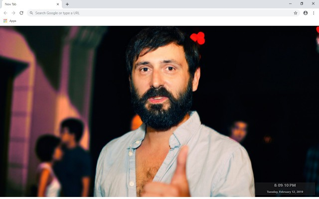 Mr. Oizo New Tab & Wallpapers Collection