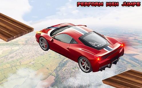 Crazy Car Games 3d Stunt driving Games pro 2017 - náhled