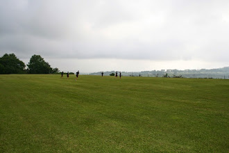 Photo: Hopkins Field near Haley House - overlooking the valley. This field is used by boys for general play and by lower cricket sides.