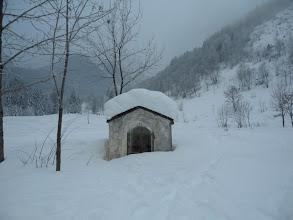 Photo: santella nella neve