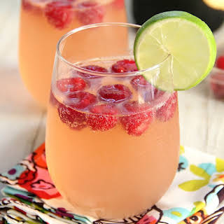 Raspberry Lemonade Champagne Punch.