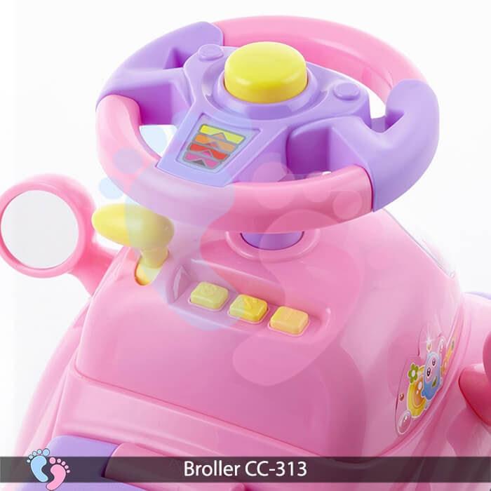 Xe chòi chân oto Broller CC 313 11