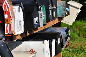 Photo: Mailboxes.