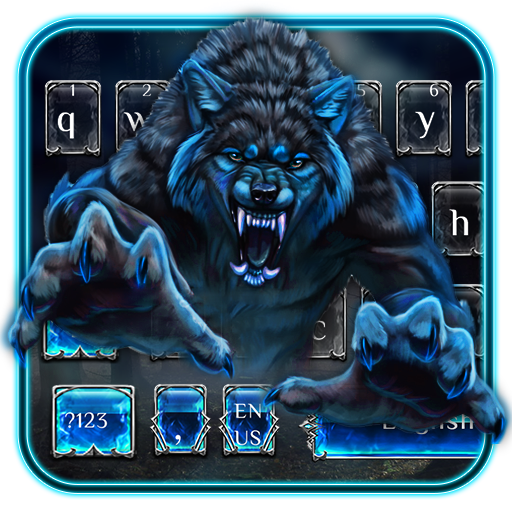 Blue Wolf Keyboard