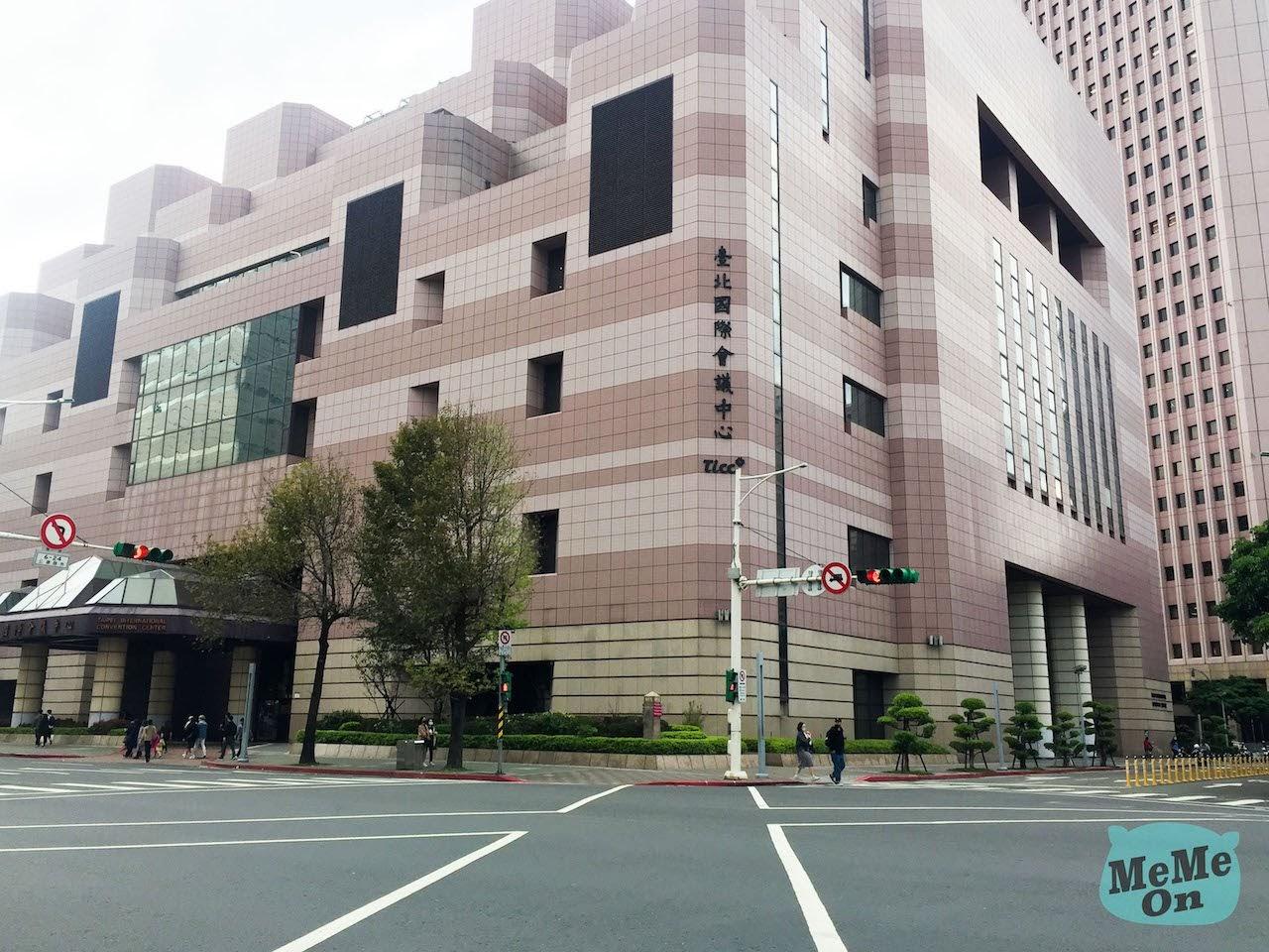 台北國際會議中心 ( TICC ) 容納人數/交通/寄物櫃/排隊動線 會場解說