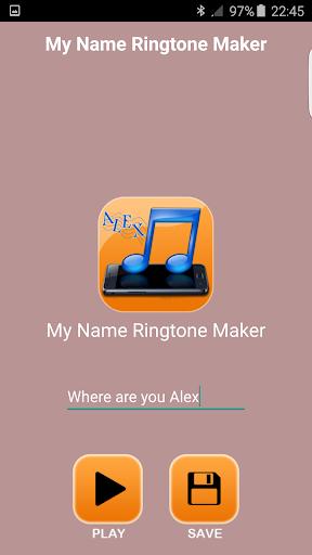 無料娱乐Appの私の名前の着メロメーカー|記事Game