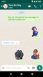 Movies & Cartoons Stickers - WAStickerApps Screenshot