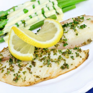 Skinny Baked Tilapia with Lemon and Capers