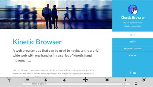 Kinetic Browser  screenshots 5