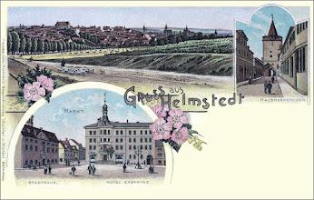 Photo: Grußkarte aus Helmstedt