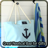 Great Nautical Bag for Gifts