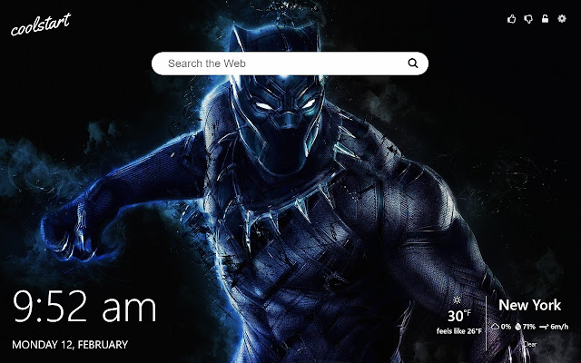 Black Panther Hd Wallpapers New Tab Theme