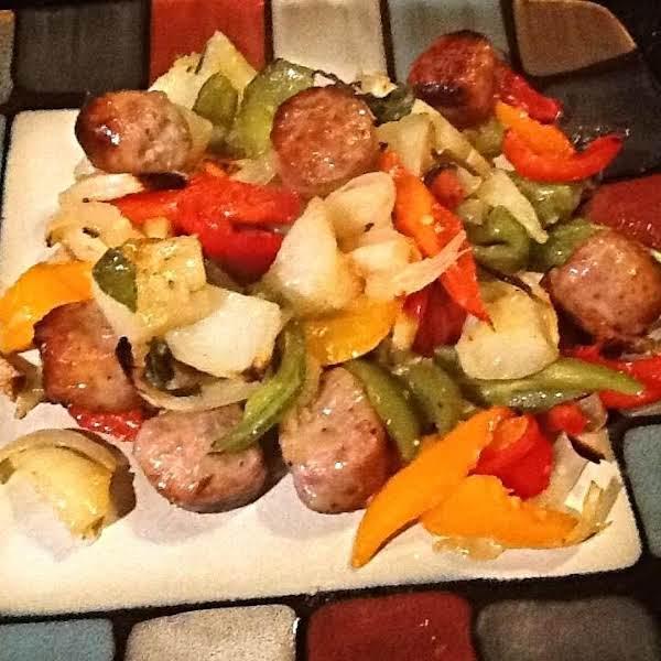 Sausage, Peppers N Potatoes Recipe
