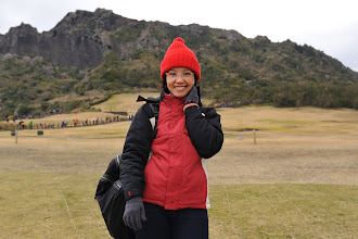 Photo: We thought Jeju Island would be warmer than Seoul. Still, it can be chilly in winter.