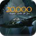 20,000 Leagues - Jules Verne - BEST Book app ever icon