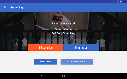 Stretching & Flexibility Routines by Fitify  screenshots 8