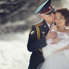 Wedding photographer Viktoriya Nosova (Nosova). Photo of 11.01.2017
