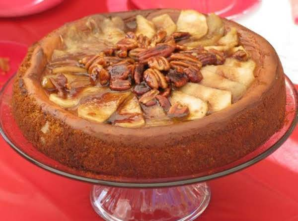 Apple Pecan  Cheesecake Recipe