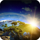 Earth And Sun Wallpaper
