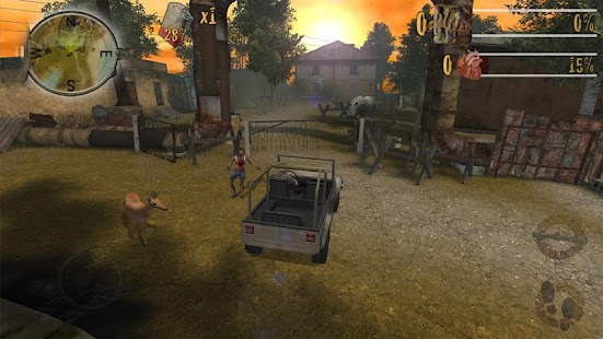 Zombie Fortress : Safari Pro Screenshot