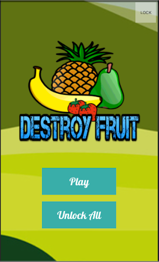 Destroy Fruit Smasher Legend