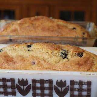 Blueberry Lemon Tea Bread.