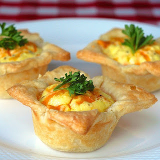 Mini Cheddar Bacon Quiche