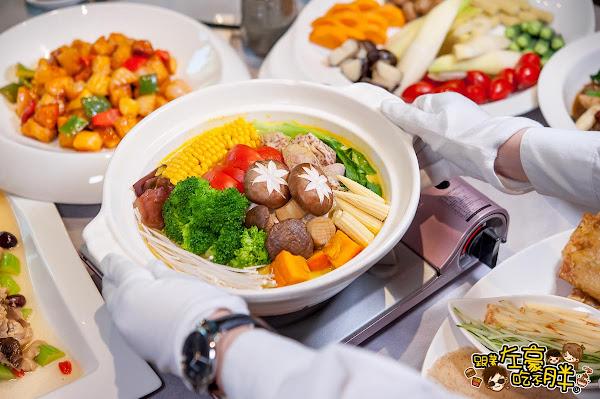 高雄素食 鈺善閣(素)養生懷石 法式宮廷華麗風蔬食餐廳,家庭聚餐推薦