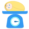 Baby Growth Tracker - Weight icon